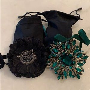 Tieks drago and emerald limited flowers plus bags for sale